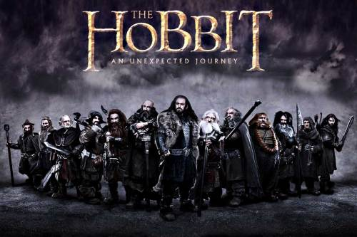 The Hobbit - title banner