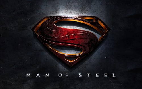 Man of Steel - title banner