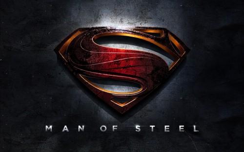 Man of Steel - title banner