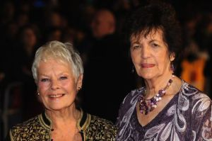 Judi Dench (left) with the real Philomena Lee (right) at the premier.