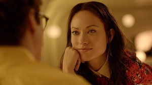Theodore out on a blind date with Amelia (Olivia Wilde).