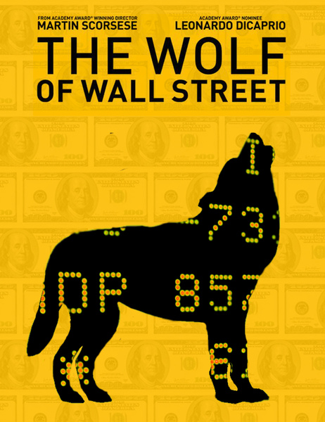The Wolf of Wall Street - title banner
