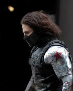 The part-masked and super-powerful Winter Soldier, whose identity and motives are unknown to SHIELD.