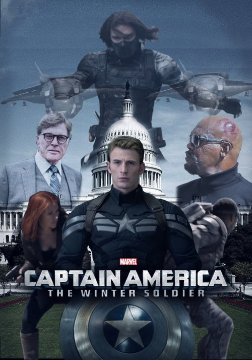 Captain America 2 - title banner