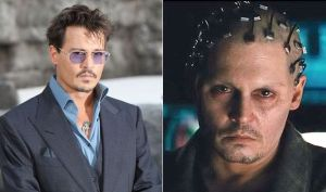 Dr. Will Caster (Johnny Depp) with the swagger of a scientist on the verge of something special, and after his shooting before his consciousness is wired up into the computer.