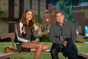 Schmidt meets the nice Maya (Amber Stevens) who does little in the film other than smile and look pretty.