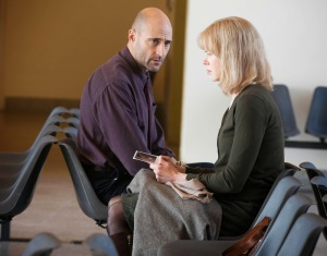 Christine having a meeting with Dr Nash (Mark Strong), without Ben's knowledge or consent.