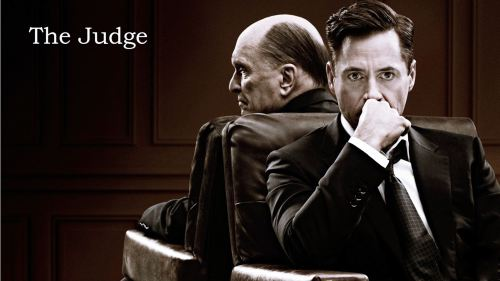 The Judge - title banner
