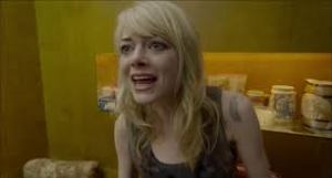 Sam (Emma Stone) exploding at her father, Riggan, for being a useless dad. But is this true?