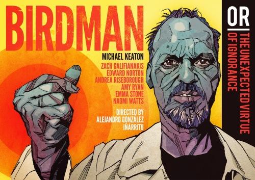 Birdman - title banner
