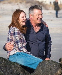 Alice and John (Alec Baldwin) trying to enjoy some good time together whilst Alice is still herself.