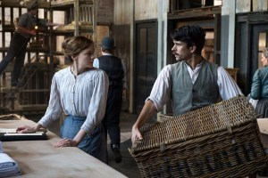 Suffragette - Maud and her husband in the factory