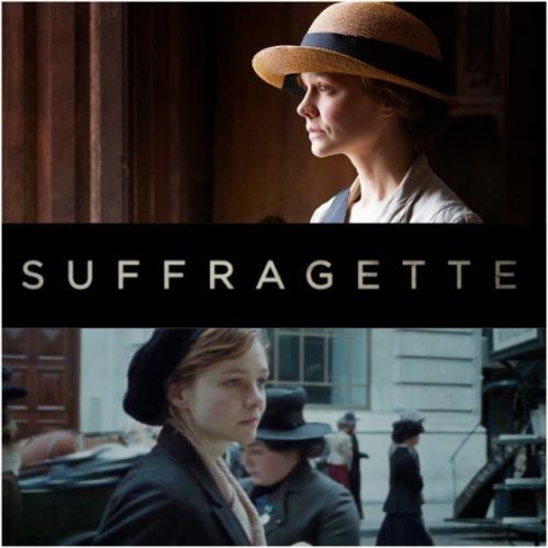 Suffragette - title banner