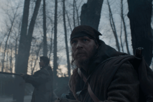 John Fitzgerald (Tom Hardy), on the expedition with Hugh Glass.