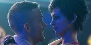Wade (Ryan Reynolds) with Vanessa (Morena Baccarin). The two of them hit it off quickly.