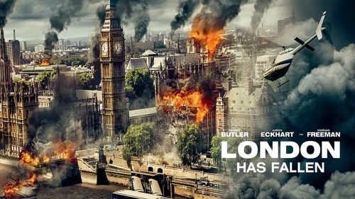 London Has Fallen - title banner