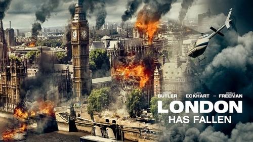 London Has Fallen - title banner